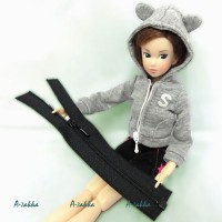 NDA023BLK Doll Dress DIY Crafts 5