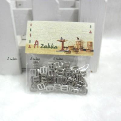 NDA021SXSLR DIY Crafts Mini Metal Buckle Silver 100pcs