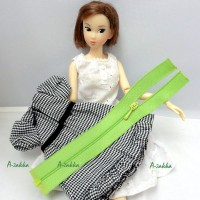 NDA023GRN Doll Dress DIY Crafts 5