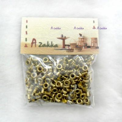 NDA035SXGLD DIY Crafts Metal Mini Eyelet 2mm Gold (300pcs)