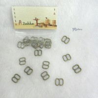 NDA050CPR Doll Dress DIY 8x8mm Metal Buckle Copper 10pcs