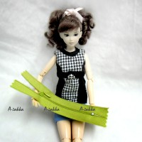 NDA053GRN Doll Dress DIY Crafts 5
