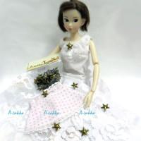 NDA059CPR Doll Dress Making Tools Mini Star Rivet 10mm Copper