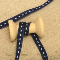 NDA099NAY DIY Material Grosgrain Ribbon 6mm Navy (2 Meter)