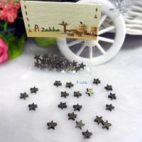 1/6 Bjd Miniature 5mm Mini Star Antique Brass (20pcs) NDA128CPR