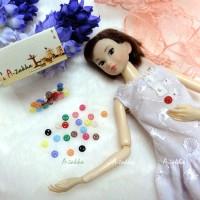 NDB002MIX Doll DIY Material Tiny Button Circular 5mm S Mix Color