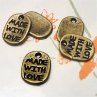 NDB019CPR Doll DIY Crafts Copper Pendant