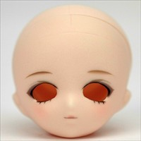 Parabox 11cm 21-25cm Obitsu Female Patined Head S-Angela (White) HD-PB-ANGELA