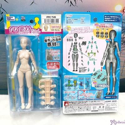 Premium Parts Collection 1/12 BJD Mini Figure Female Body Doll Light Flesh Skin PPC-T45