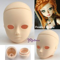 HD-PB-2501W  Parabox Obitsu 25cm Body Gretel Eye Hole Head White
