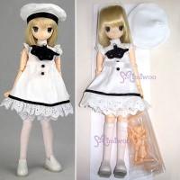 DL-PAW White PAWN Obitsu 21cm Girl dollfie Finished Doll