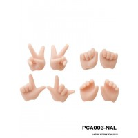 Azone 1/12 Picco Neemo Body D Option Hands Natural PCA003-NAL
