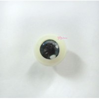 PJ16C01 MSD 1/4 Bjd Acrylic Full Round Charming Eye 16mm Blue