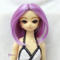 PW60-613-VL Obitsu 60cm Gretel MSD Hujoo Curl Middle Wig Violet