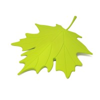 QL10072-GREEN QUALY Living Styles Home Autumn Leaf Door Stopper
