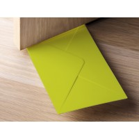 QL10151-GREEN QUALY Living Styles Door Stopper + Envelope Holder