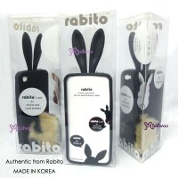 RA001BLK 100% Real Korea Rabito iPhone 4 Case Cover Black