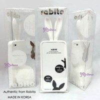 RA001WHE 100% Real Korea Rabito iPhone 4 Case Cover White