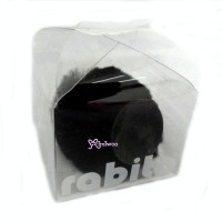 RA002BLK 100% Authentic Korea Rabito iPhone 4 Stand Tail Black