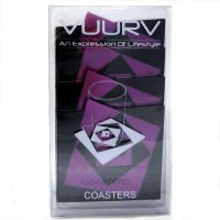 RS-01-PNK Vuurv Silicone Coaster Heat Insulation Rose Pink
