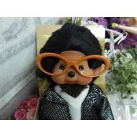 Monchhichi Glasses Frame ORANGE for S & M Size MCC RX001-RAE