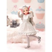 1816101 Petworks Ruruko Gray Cat Doll (Pure Neemo Full Flection XS) PRE-ORDER
