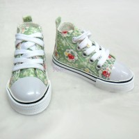 Super Dollfie SD13 Boy Shoes Flower Sneaker Green SHB032XGN