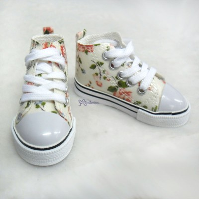 Super Dollfie SD13 Boy Shoes Flower Sneaker Yellow SHB032XYW
