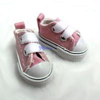 SHH011PNK Hujoo Berry Yomi Obitsu 1/6 Male Denim Shoes Pink
