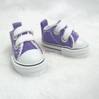 SHH011PUE Hujoo Berry Yomi Obitsu 1/6 Male Denim Shoes Purple