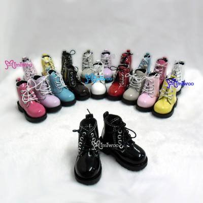 SHM049BLK MSD Bjd Obitsu 60cm Doll Boots High Hill Shoes Black