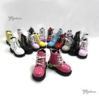 SHM049CHY MSD Bjd Obitsu 60cm Doll Boots High Hill Shoes Cherry