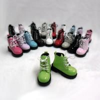 SHM049GRN MSD Bjd Obitsu 60cm Doll Boots High Hill Shoes Green