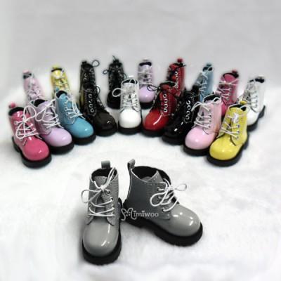 SHM049GRY MSD Bjd Obitsu 60cm Doll Boots High Hill Shoes Grey