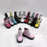 SHM049PNK MSD Bjd Obitsu 60cm Doll Boots High Hill Shoes Pink