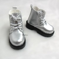 SHM049SLR MSD Bjd Obitsu 60cm Doll Boots High Hill Shoes Silver