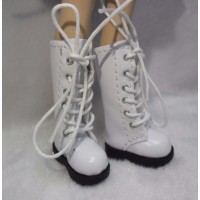 Lati Yellow Blythe Pullip Shoes Long Boots White SHP007WHE