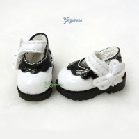 3.3cm Maryjane Strapped Shoes White SHP112WHE