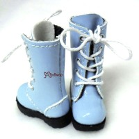 SHP118BLE Blythe Pullip Momoko Doll Shoes Long Boots Lt. Blue