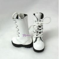 SHP118WHE Blythe Pullip Momoko Obitsu bjd Shoes Long Boots White