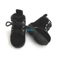 1/6 Bjd Neo B Doll Shoes Velvet Boots Black SHP187BLK