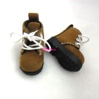 Blythe Pullip Momoko Shoes Velvet Boots Lt.Brown SHP187LBRN