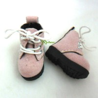 1/6 Bjd Neo B Doll Shoes Velvet Boots Pink SHP187PNK