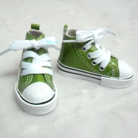 Super Dollfie SD DD bjd Shoes Metallic Sneaker GREEN SHS140GRN