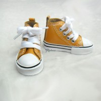Super Dollfie SD DD bjd Shoes Metallic Sneaker ORANGE SHS140RAE