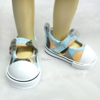 Yo-SD bjd Doll Maryjane Denim Shoes Hiking Blue SHU052WBE