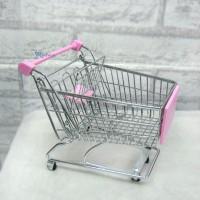 1/6 Bjd Mini Shopping Cart L Pink TBA018PNK
