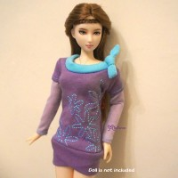 TBS049PUE Blythe Momoko Pure Neemo Doll Outfit One-Piece Dress