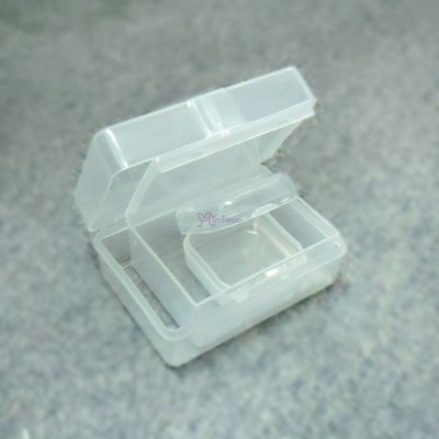 Doll Miniature Storage Box Mini Plastic Case (3 Size) TBS105SET