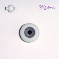 TE20HB05 Super Dollfie SD Hujoo 20mm Bjd Glass Eye Pattern Grey